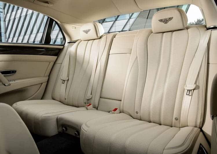 bentley flying spur seats inside