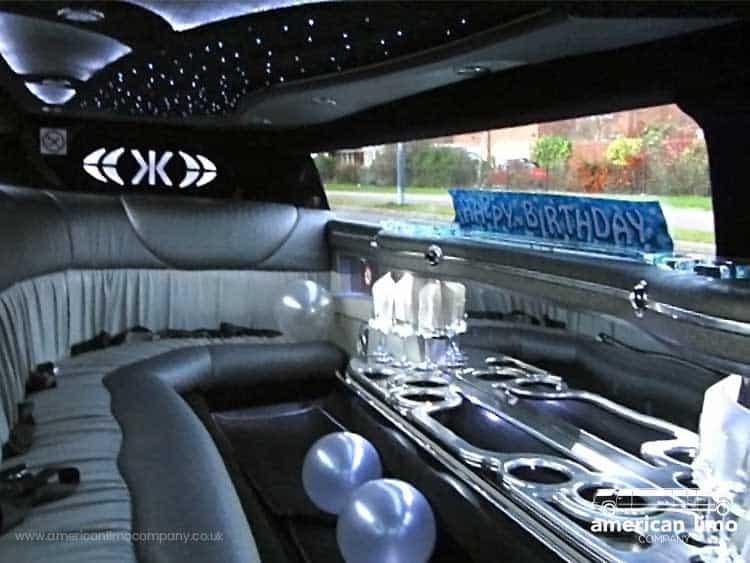 Chrysler Limousine Hire Inside