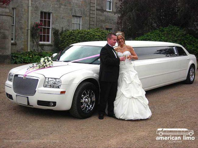 Chrysler Limousine Hire Wedding