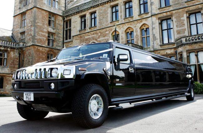 Black Hummer Limousine