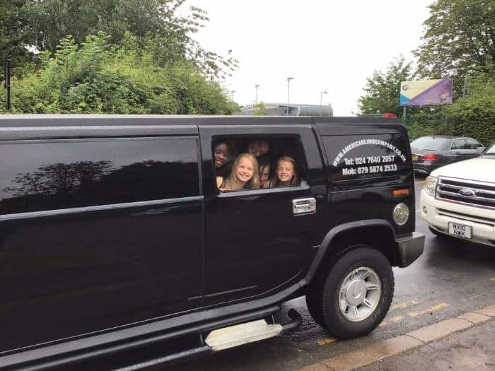 local limo hire 274