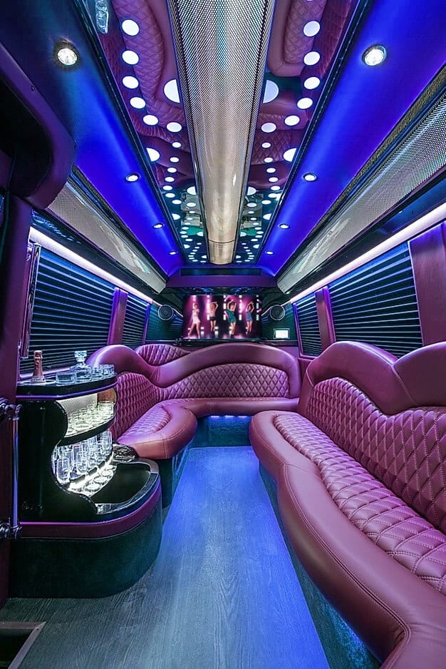 party bus coventry blue