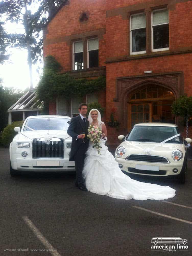Rolls Royce White Phantom Wedding Hire